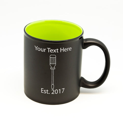 Custom Screwdriver Hilo Straight Mug