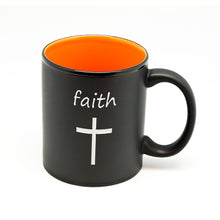 Faith Cross Hilo Straight Mug