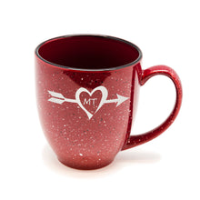 Arrow State Heart Santa Fe Bistro Mug