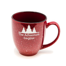 The Adventure Begins Santa Fe Bistro Mug