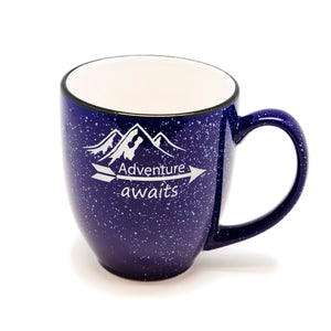 Adventure Awaits Santa Fe Bistro Mug