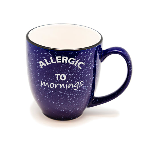 Allergic to Mornings Santa Fe Bistro Mug