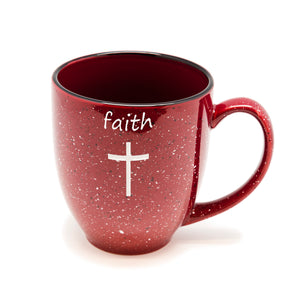 Faith Cross Santa Fe Bistro Mug