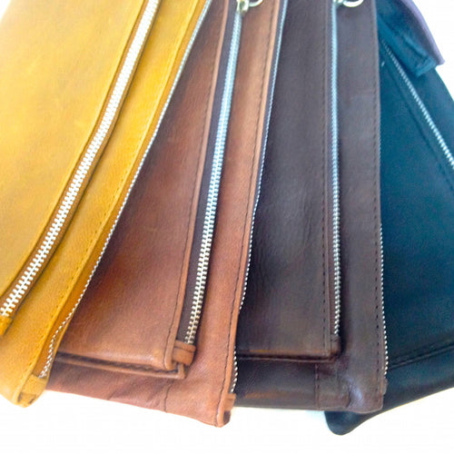 Evie Leather Goat Hide Wallet