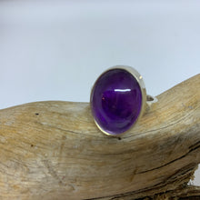 Protective Amethyst Ring      Size 8
