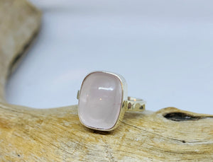 Abundance Rose Quartz Ring     Size 9