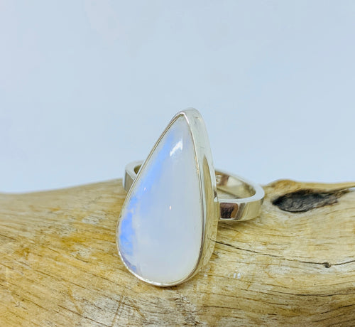 Serenity Moonstone ring Size 8