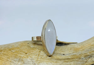 Lovers Moonstone ring Size 6