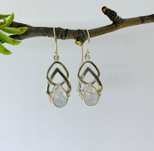 Embrace Moonstone earrings