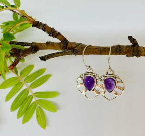 Blossom Amethyst  earrings