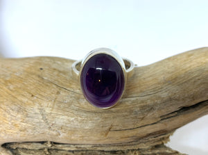 Guiding Light Amethyst Ring      Size 10