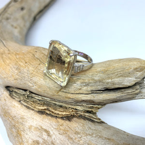 Empress Marquise Citrine ring   size 9