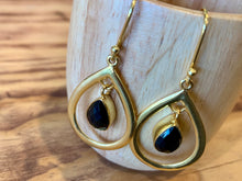Chalcedony Princess Gold Earrings
