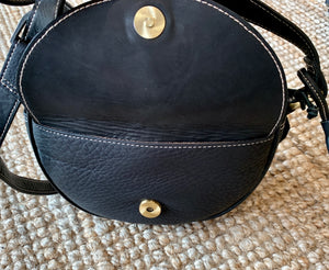 Tilly Round Cow hide leather Bag