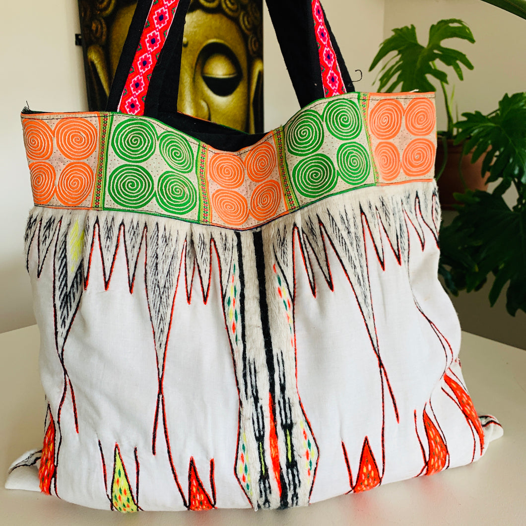 Tribal Hmong Vintage Bag