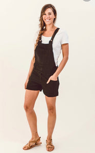 Evie Cotton Overalls Shorts
