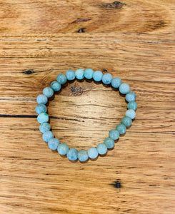 Light Jade beaded Bracelet