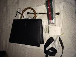 f9109fe7cf48 Gucci Dionysus Striped Bamboo Top-Handle Bag – Remy Barnes Consignment