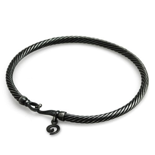 Dirty Twisted Bangle By OHM