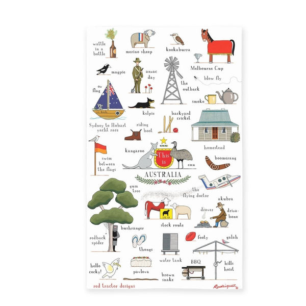 Australia Tea Towel
