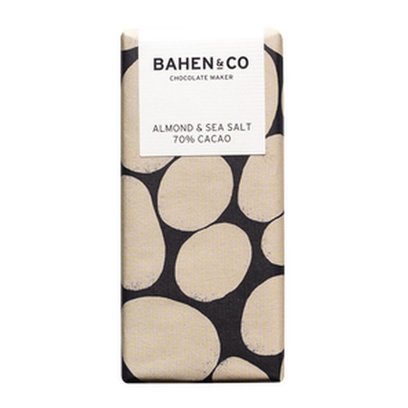 Bahen & Co Almond & Sea Salt Chocolate