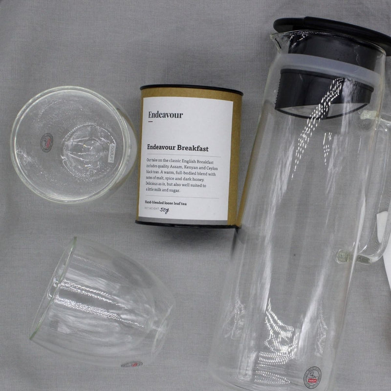 Clear Glass Infusion Iced Tea Jug