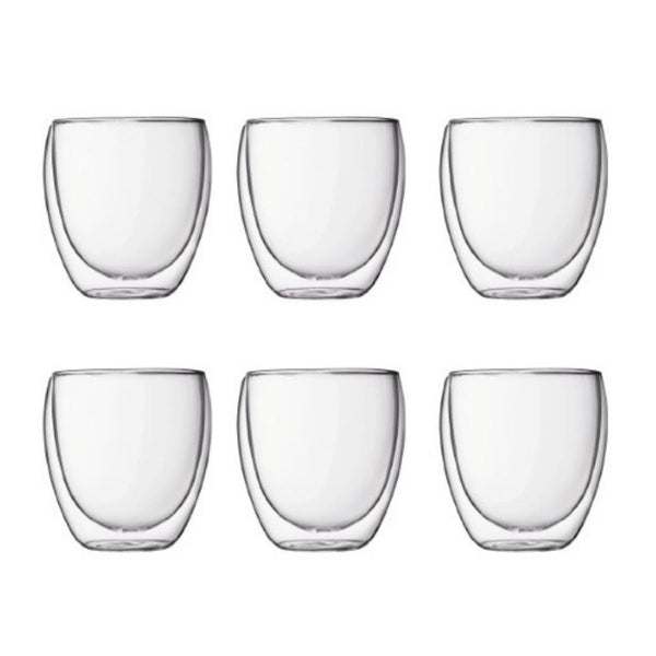 Double Walled Glass Cups
