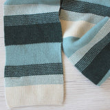Moody Blues Merino Wool Scarf