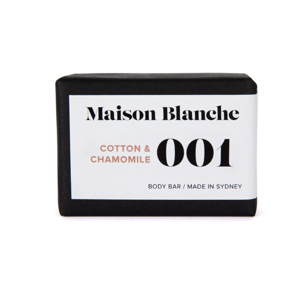 Maison Blanche Cotton & Chamomile Soap
