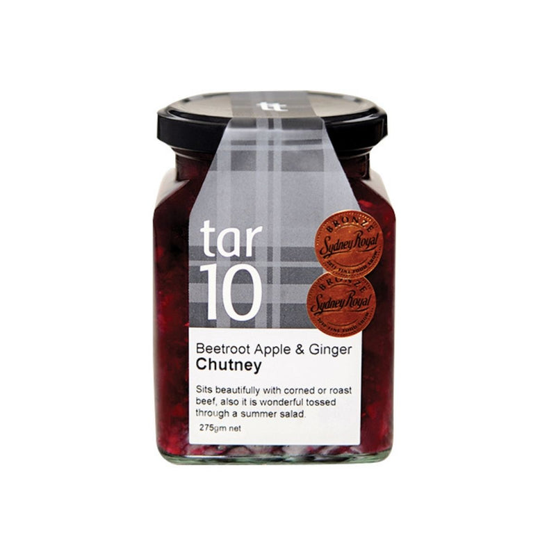 Tar10 Beetroot Apple and Ginger Chutney
