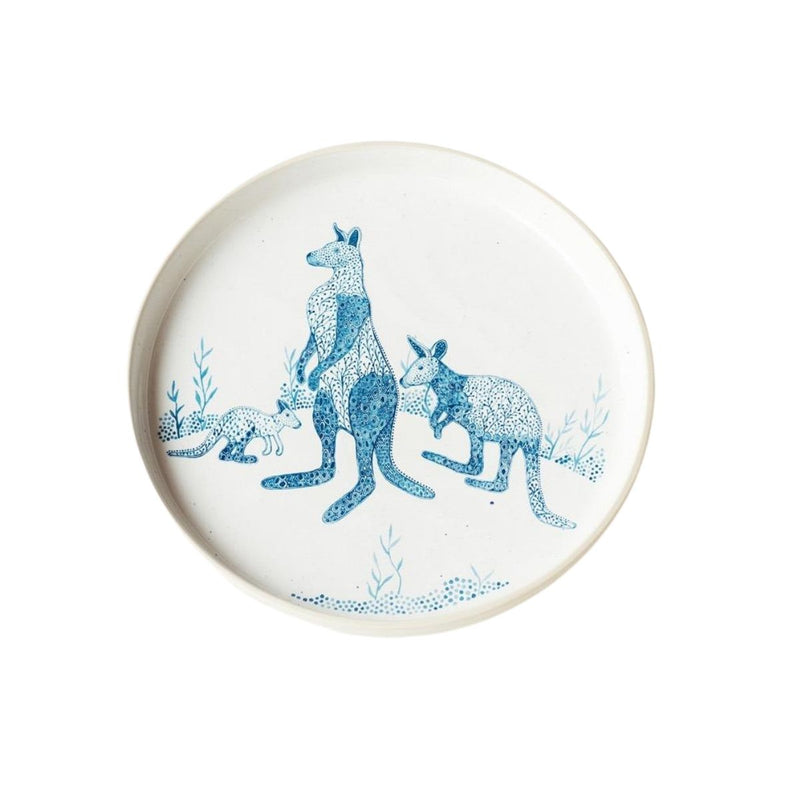 Angus and Celeste Roo Plate