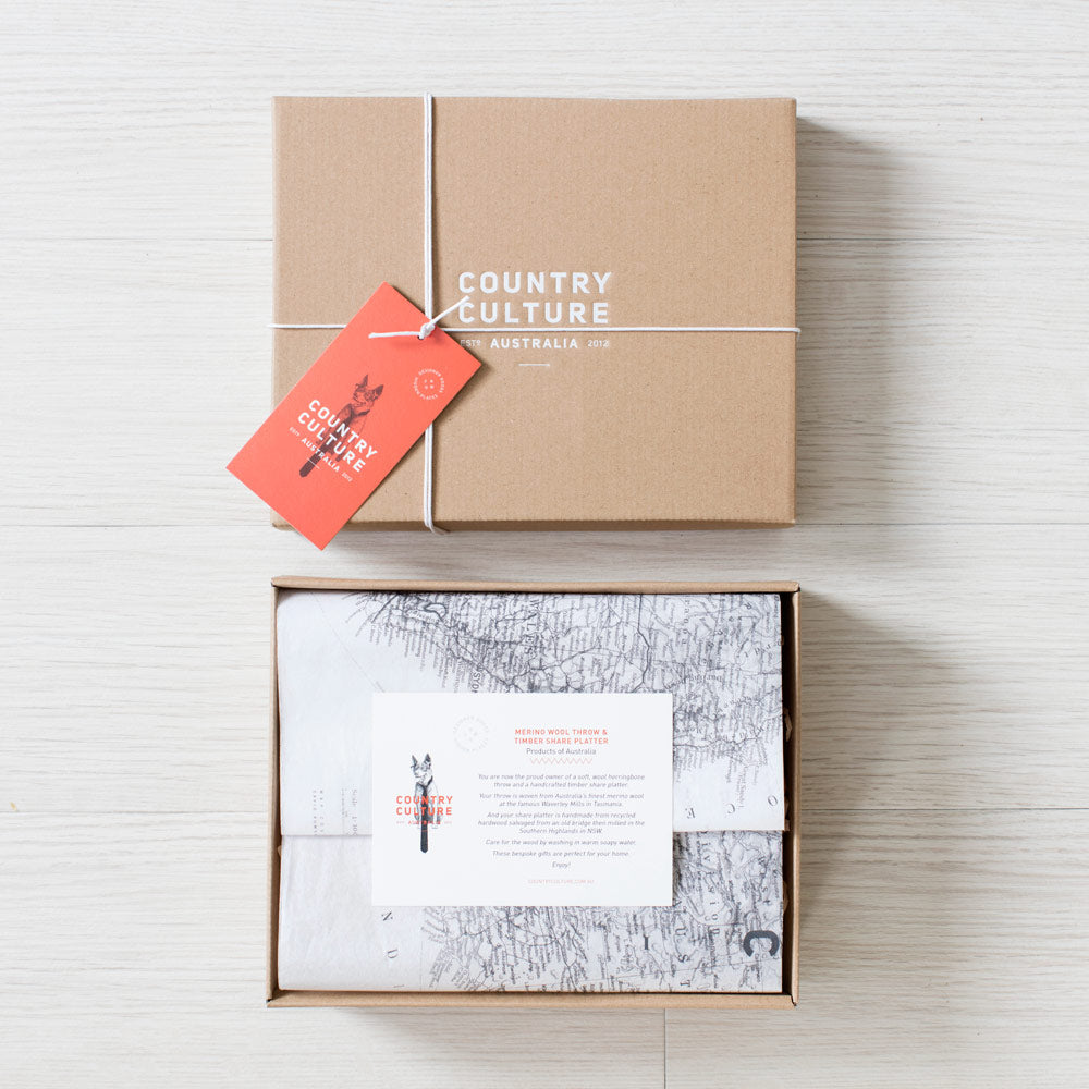 country culture gift box