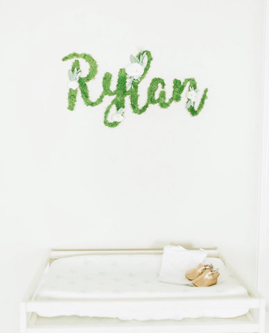 Rylan nursery sign