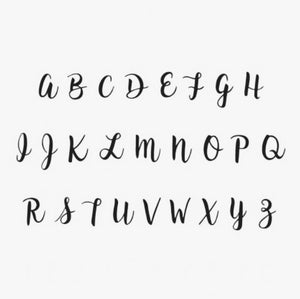Custom Bare Name - Fancy Font