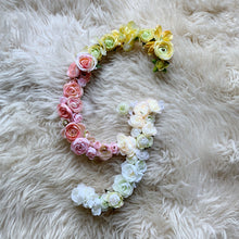 Personalized All Floral Letter