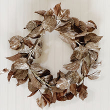"22"" Custom Metallic Coleus Wreath"