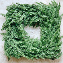 "18"" Square Name Wreath - Fancy Font"