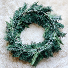 "24"" Custom Mixed Pine Wreath"