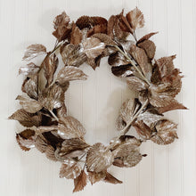 "22"" Metallic Coleus Wreath"