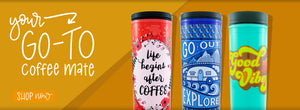 Check out the new Commuter Coffee Travel Mug