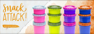 Snack Stackers Make SNacking On The Go Easy And Fun