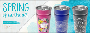 Shop Stainless Steel Tumblers at Cool Gear