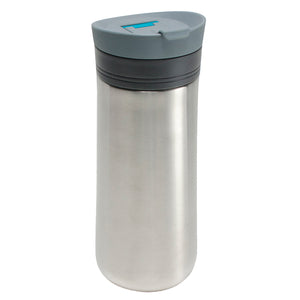 Aquamarine Java Latch 16 Oz Travel Mug at Cool Gear Coffee Tea,Travel Mugs,Stainless Steel