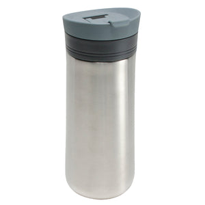 Light Gray Java Latch 16 Oz Travel Mug at Cool Gear Coffee Tea,Travel Mugs,Stainless Steel
