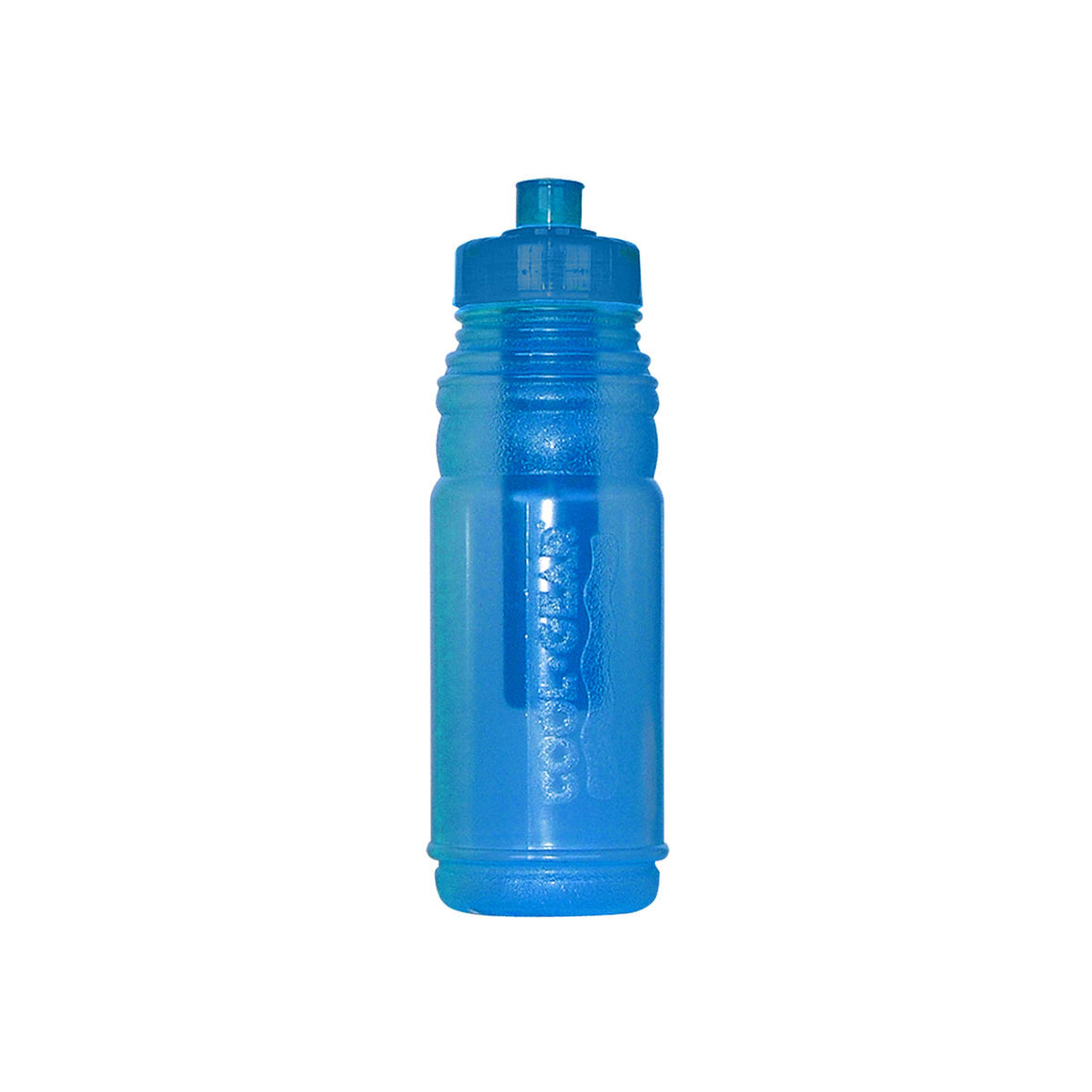 22oz relay water bottle in blue, green, pink and purple at Cool Gear Water Bottles