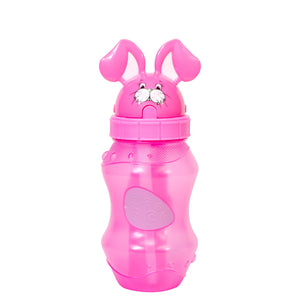 Cool Gear | 12.5 Oz Easter Bunny Cool Zooey Water Bottle in Pastel Pink