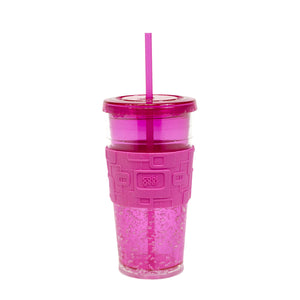Pink 24 Oz Gel Chiller (With Band) at Cool Gear Tumblers
