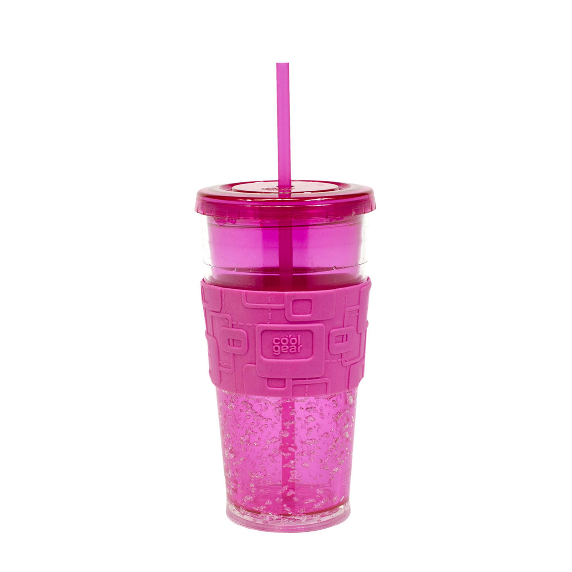 Green 24 Oz Gel Chiller (With Band) at Cool Gear Tumblers