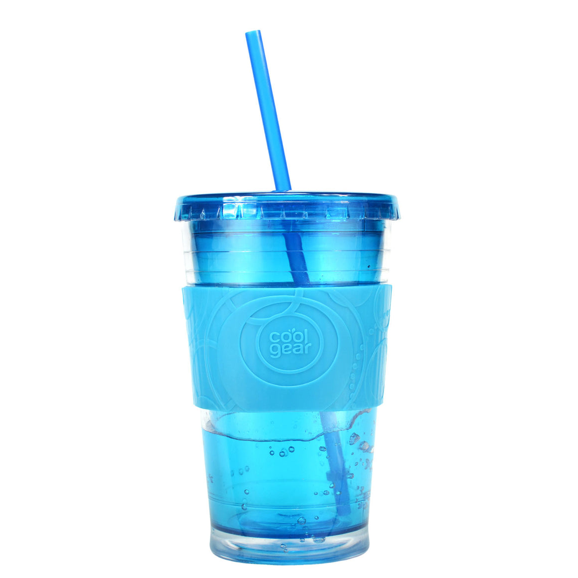 Green 20 Oz Gel Chiller (With Band) at Cool Gear Tumblers