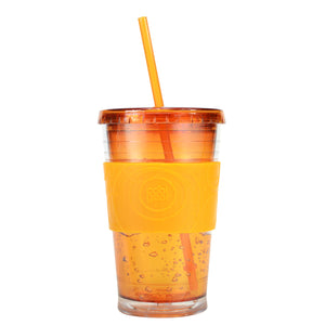 Orange 20 Oz Gel Chiller (With Band) at Cool Gear Tumblers